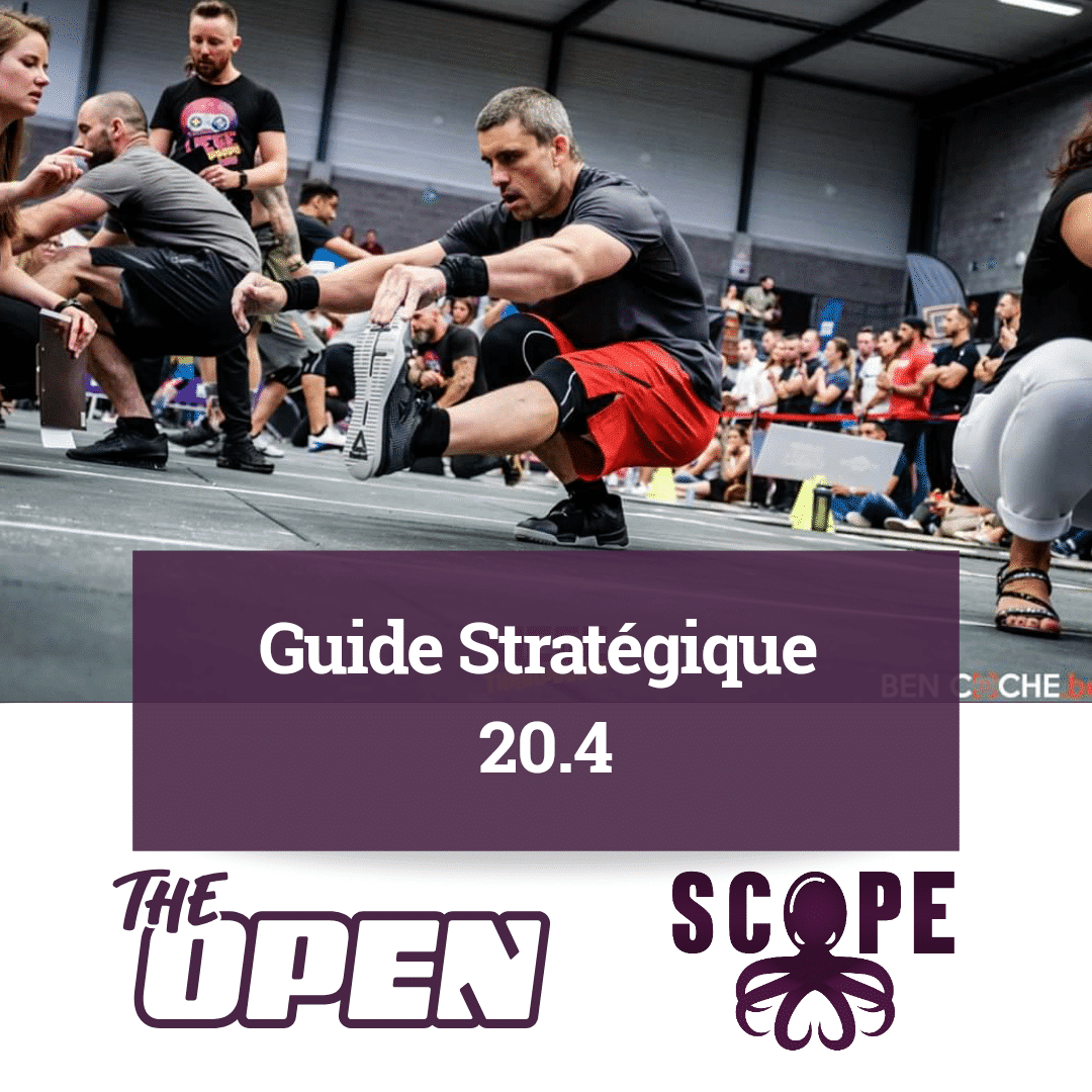 "Extrait du Guide du SCOPE pour le ""CrossFit Open 20.4"""