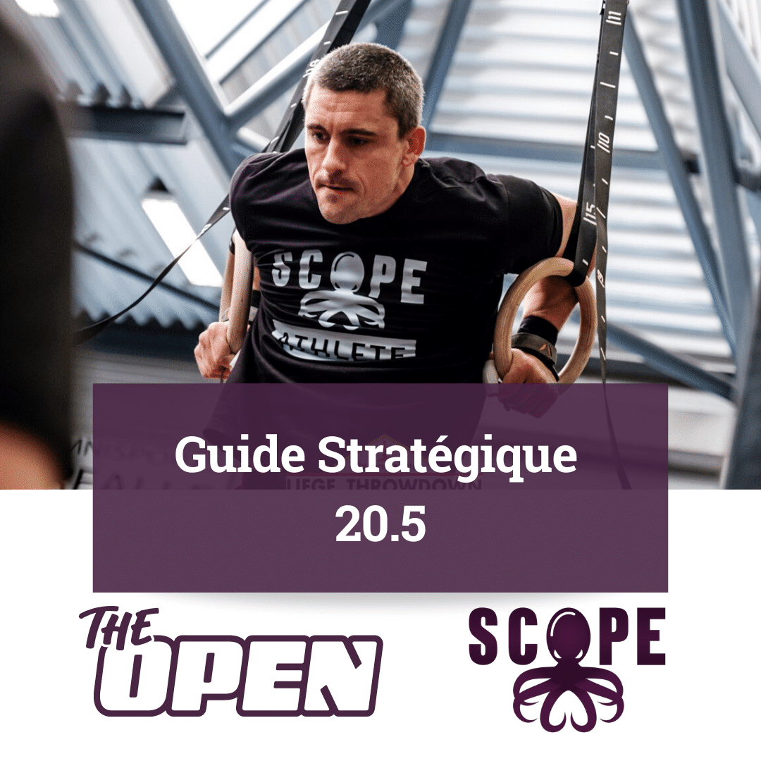 "Extrait du Guide du SCOPE pour le ""CrossFit Open 20.5"""